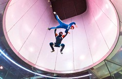 High fly at iFLY in Basingstoke