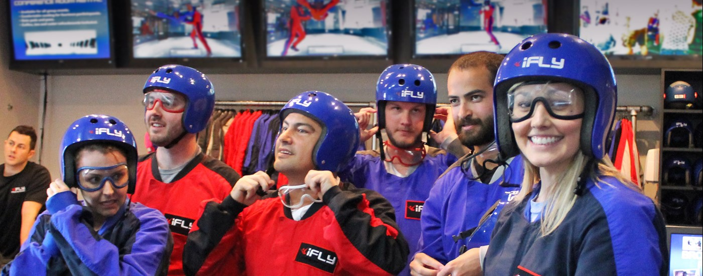 Group at iFLY
