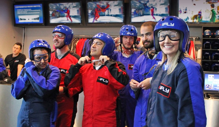 Ifly Indoor Skydiving Groups Events And Birthdays