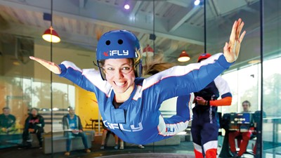 Indoor Skydiving at iFLY