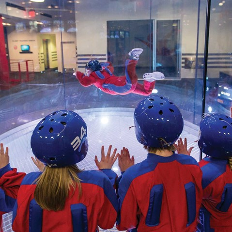 School Group at iFLY