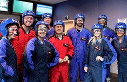 Group of flyers at iFLY